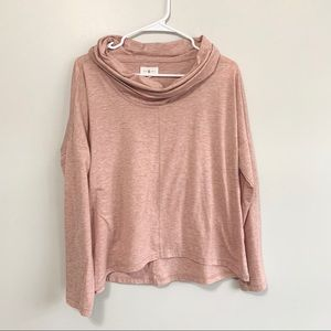 LOU & GREY | Cowl Neck Pullover Large